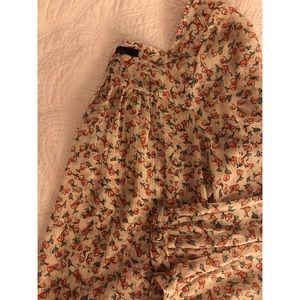 Jessica Simpson- floral blouse